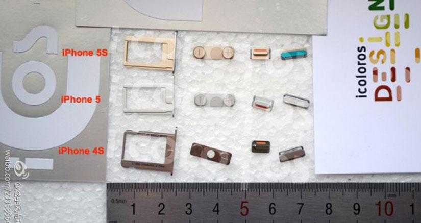 Aparecen piezas de un iPhone 5s de color dorado…más falsas que un billete de 7€