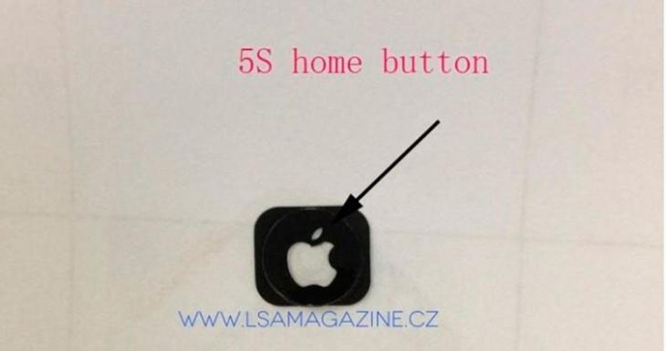 El botón home del iPhone 5S podría llevar la manzana de Apple iluminada [Foto]