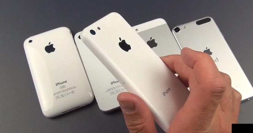 Vídeo HD del iPhone barato y fotos del concepto montado….