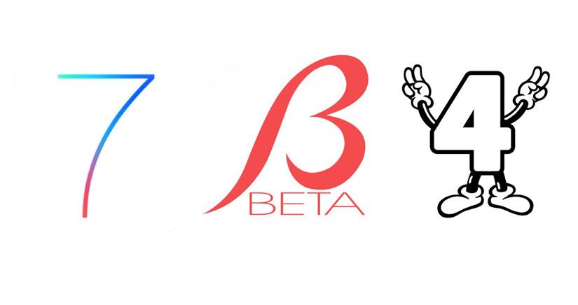 Novedades iOS 7 Beta 4