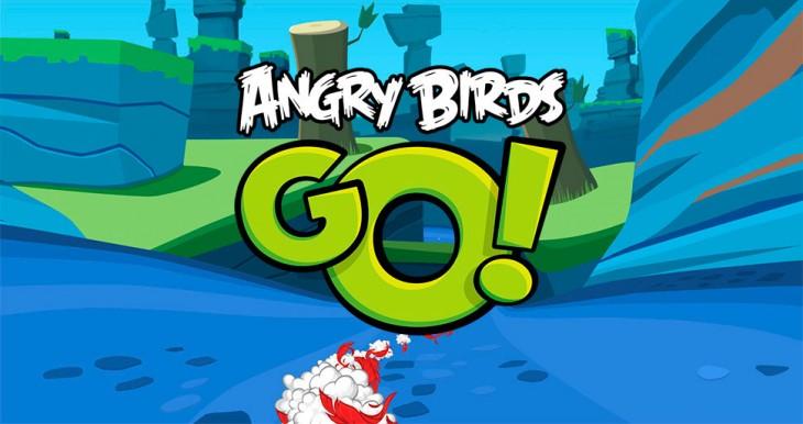 Angry Birds Go! Los pájaros locos se pasan a los karts.