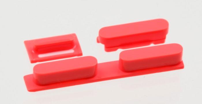 Botones-iPhone-5C-rojo