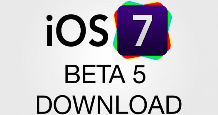 Descargar iOS 7 Beta 5 para Instalar sin ser desarrollador [Todos los Enlaces]