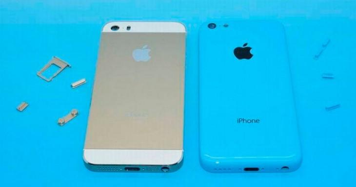 Fotos del iPhone 5S y el iPhone 5C juntos. Si, hacen buena pareja…