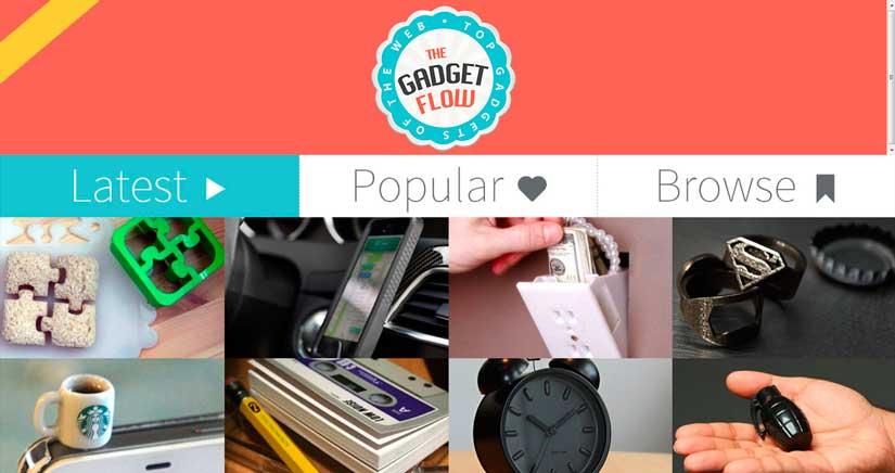 The Gadget Flow, los productos más curiosos en tu iPhone