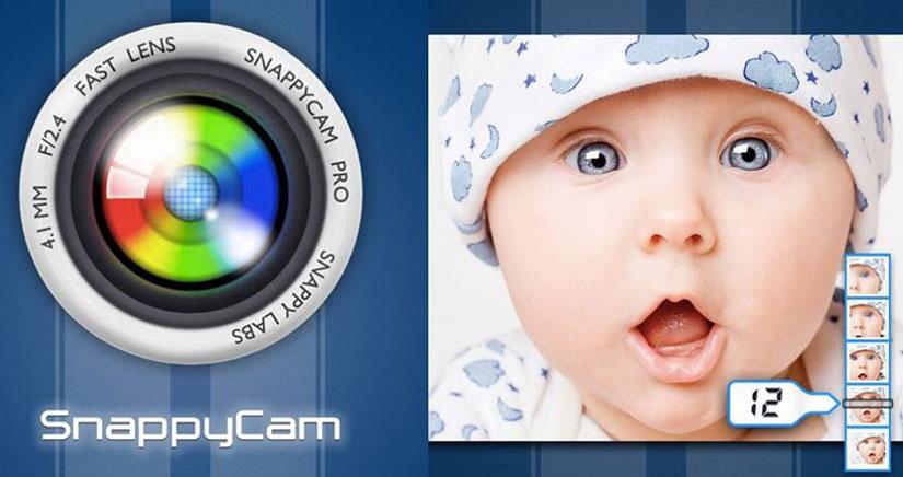 Dispara 20 fotos por segundo con SnappyCam, el F1 de las cámaras para iPhone