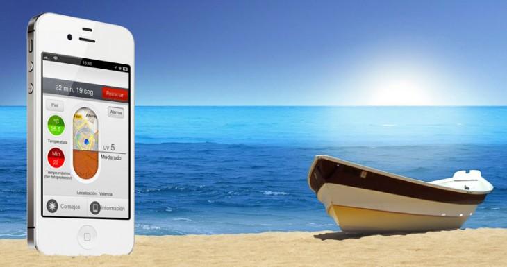 Solare, la aplicación que evitará que te quemes en la playa