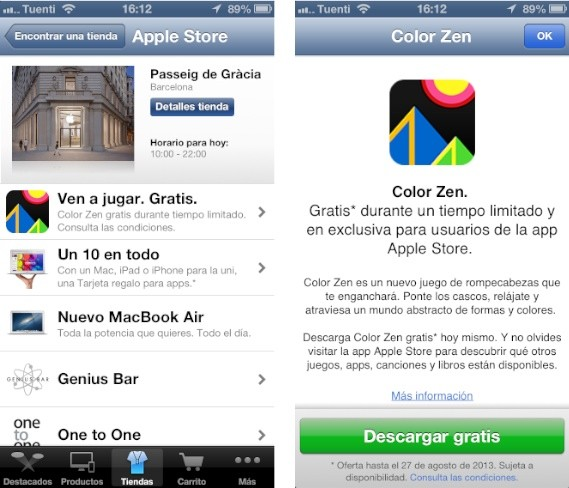 regalos apple store