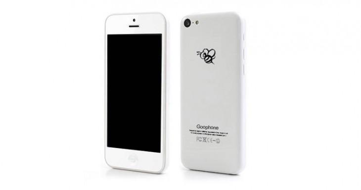 La copia china del iPhone 5c llega de la mano de Goophone… otra vez…