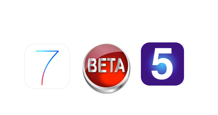 iOS 7 Beta 5 disponible para descargar