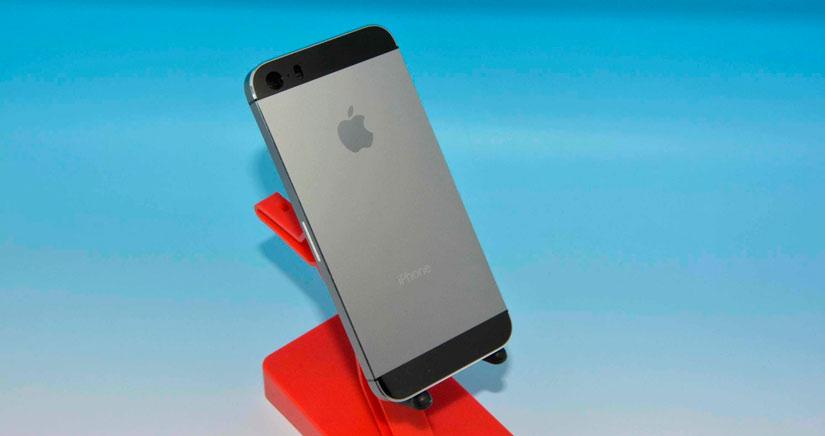 Un iPhone 5S color Grafito aparece en fotos