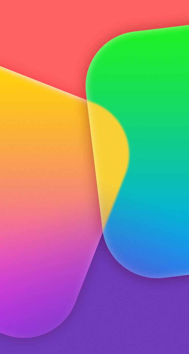 10c53a6b3e6 Descarga los 32 nuevos Fondos de pantalla de iOS 7 ahora mismo ...