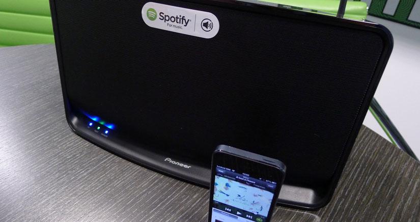 Spotify Connect, la transferencia inalámbrica de toda tu música a tu equipo de sonido