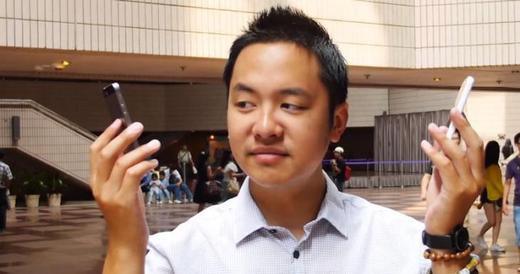iPhone 5S y iPhone 5C puestos a prueba en un Crash Test… Ayyyy