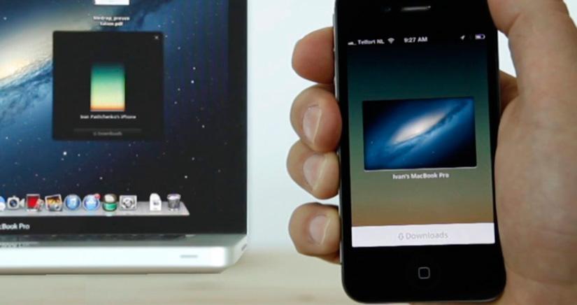 Filedrop la manera más fácil de compartir archivos en iOS [App gratis Recomendada]