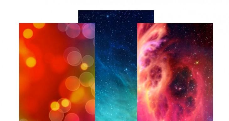 8+1 Fondos de pantalla muy coloridos para iOS 7