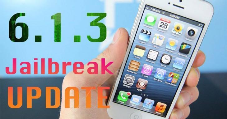 Hay JailBreak para iOS 6.1.3 / 6.1.4 te lo enseñamos en vídeo….