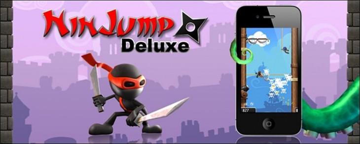 App de la semana: NinJump Deluxe, descárgala Gratis para iPhone y iPad