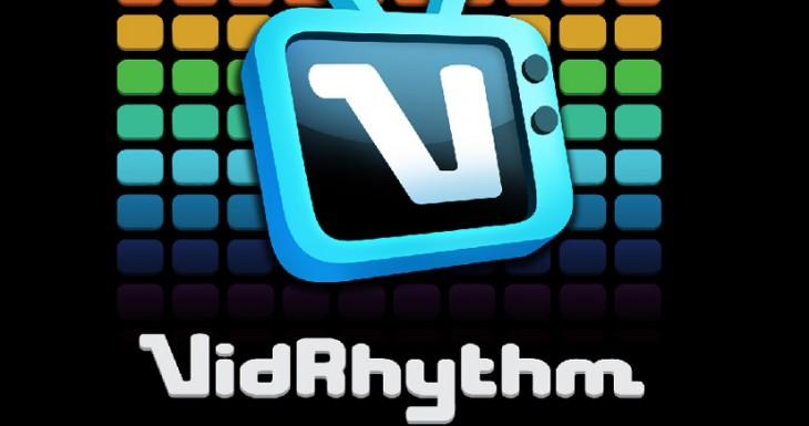 VidRhythm… graba tus propios sonidos, elige un montaje de video y ríete a lo grande.