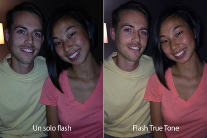 flash del iPhone 5s