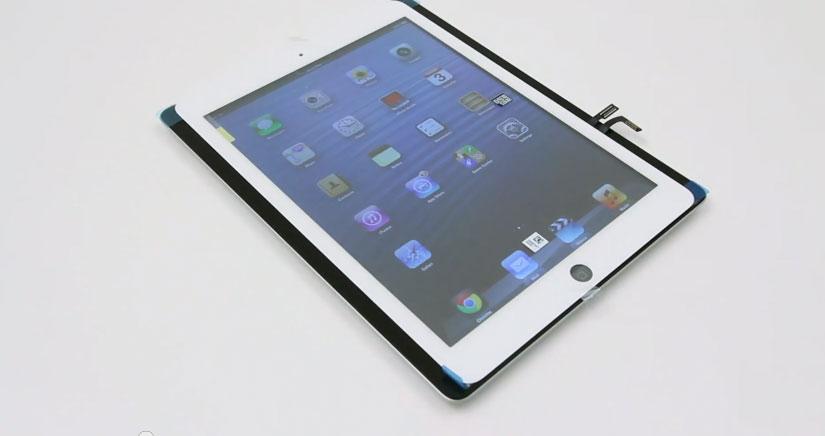 iPad 5, más pequeño pero con el mismo tamaño de pantalla [Vídeo]