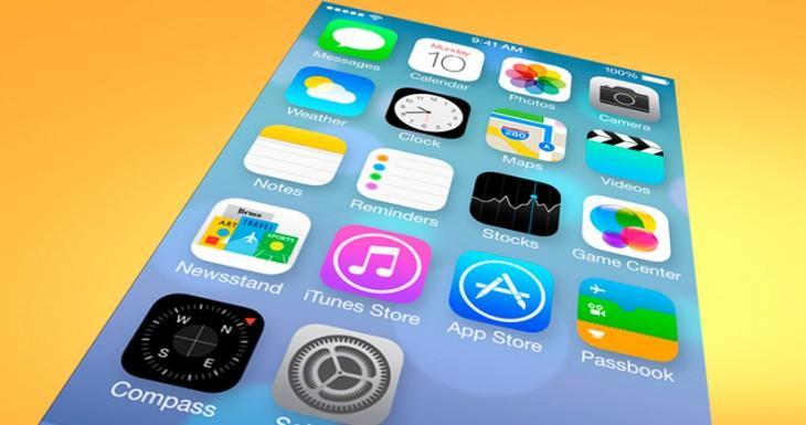 IOS 7 Golden Master a prueba en iPhone 4S