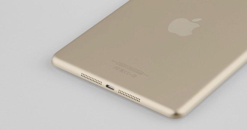 El iPad 5 y iPad Mini 2 también se podrían pasar al color dorado [Fotos]