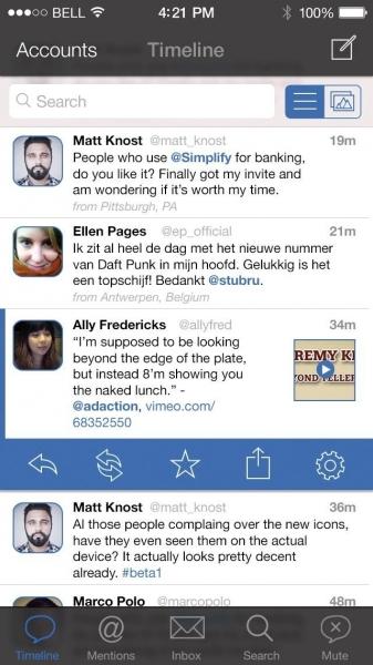 Tweetbot iOS 7