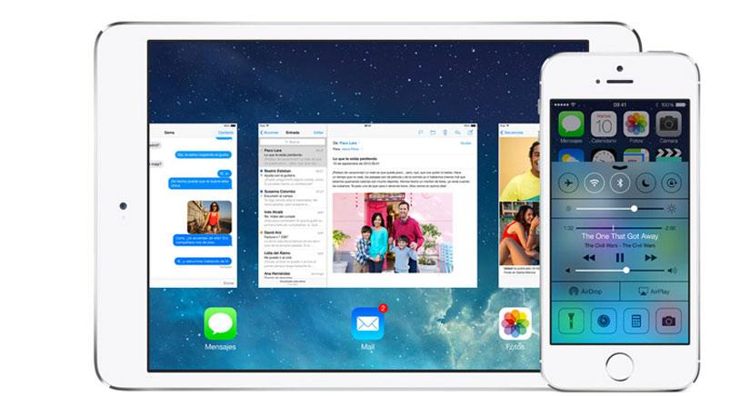 iOS 7 se instaló en el 71% de los iDispositivos compatibles en menos de un mes