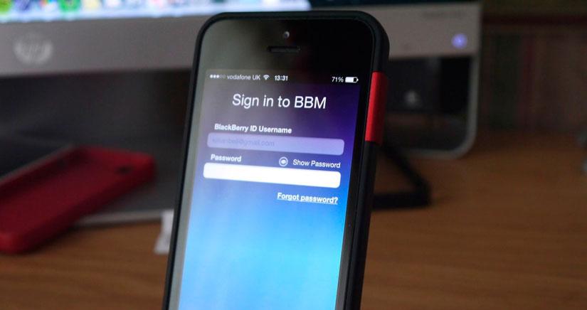 BBM alcanza los 20 millones de descargas en una semana