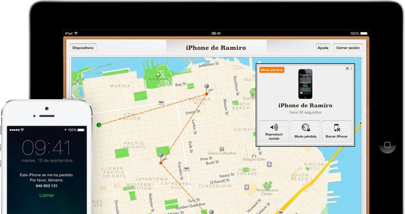 Cómo desactivar buscar mi iPhone si el iPhone está bloqueado al caducar iOS 7 Beta 6