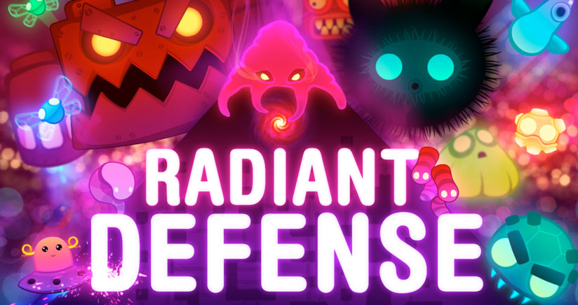 Radiant defense td- estrategia llena de color en tu iPhone