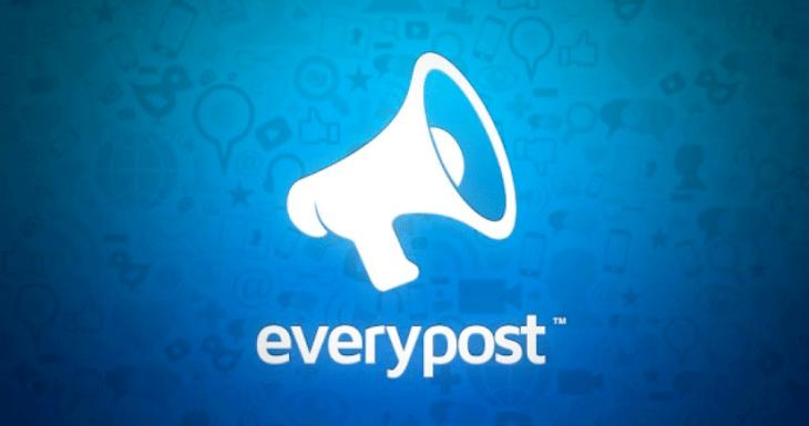 Everypost comparte en varias redes sociales desde una sola App