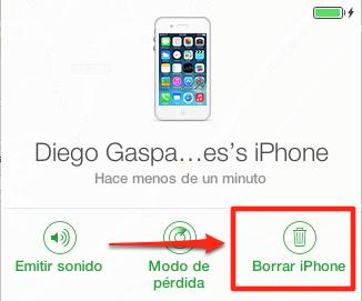 Desactivar Buscar mi iPhone con el iPhone bloqueado