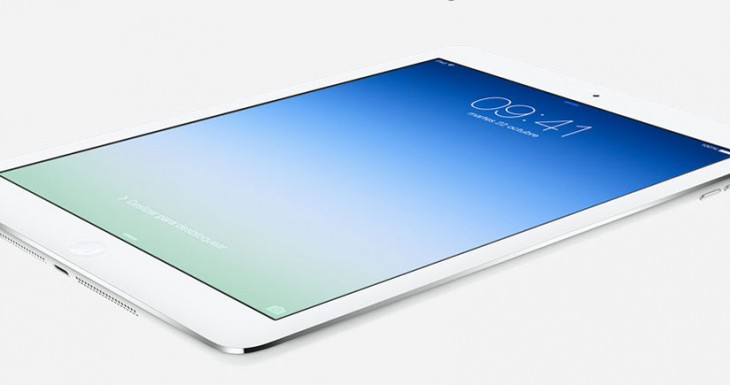 Descarga el Wallpaper del iPad Air [Para iPhone y iPad]
