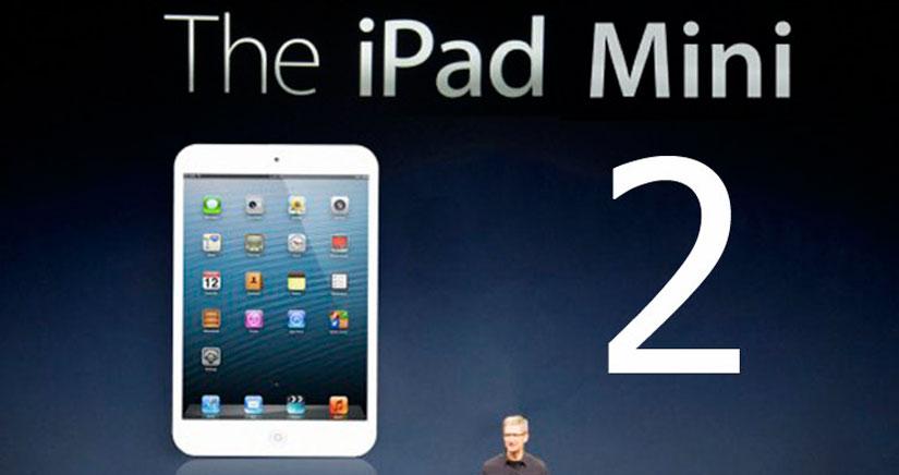 Apple presentará el iPad Mini 2 con pantalla retina en la Keynote de mañana [WSJ]
