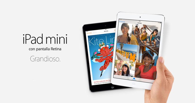 Llega el iPad mini Retina… Así es el chiquitín de Apple