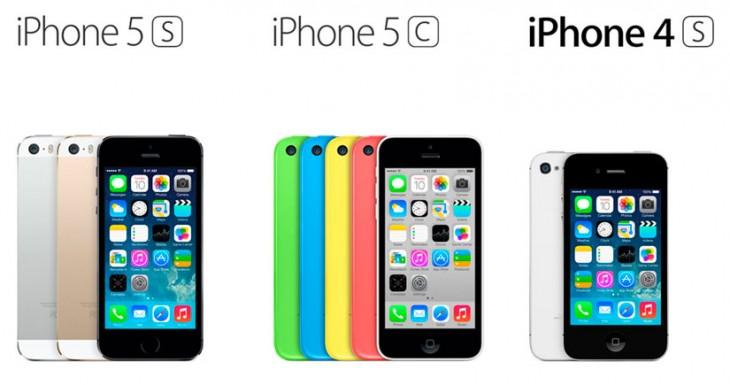 El iPhone 5S se vende 2 veces más que el iPhone 5C