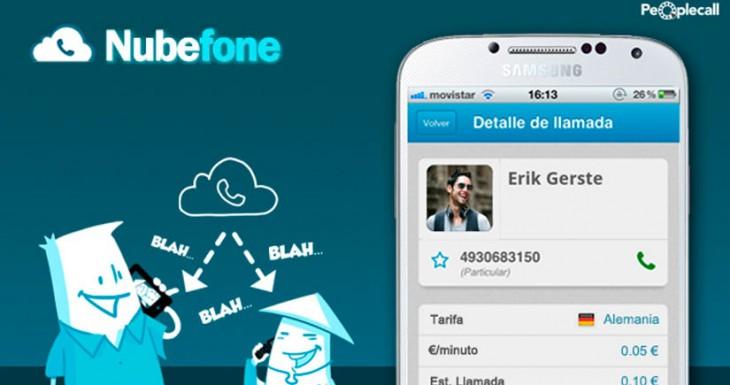 Nubefone: llamadas baratas y sin compromisos desde tu iPhone cuando las necesites