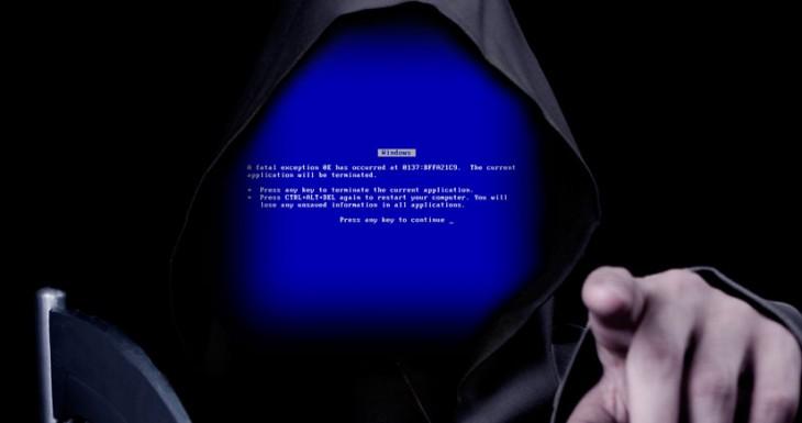 El iPhone 5S y la pantalla azul de la muerte….