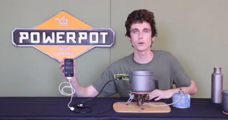 La olla de cocina que carga tu iPhone se llama PowerPot y no es un invento de Arguiñano…