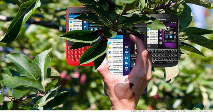 Apple quiere una parte de BlackBerry, pero los Canadienses no venden….