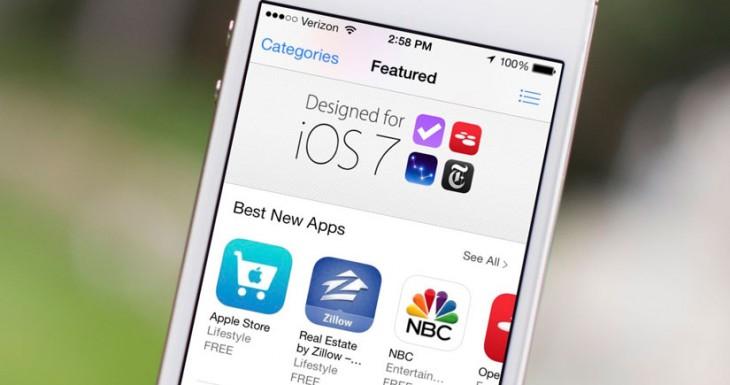 Aluvión de actualizaciones de Apps a iOS 7