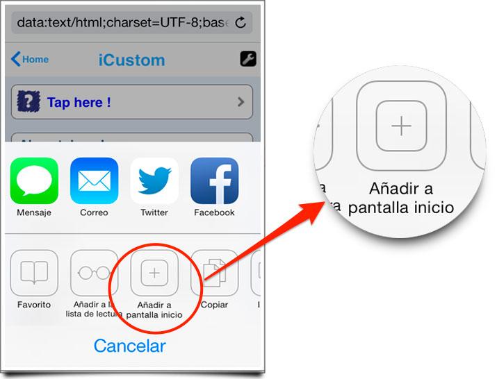 Como cambiar los iconos del iphone