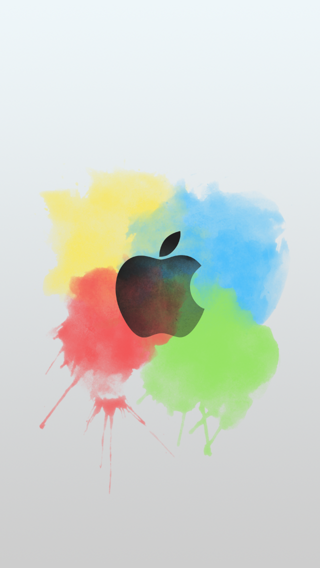 iPhone Apple Logo Color