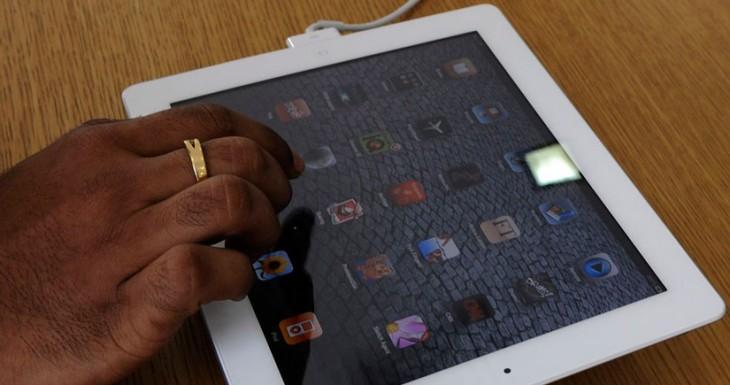 Evacuan una tienda de Vodafone al Incendiarse un iPad Air de exposición