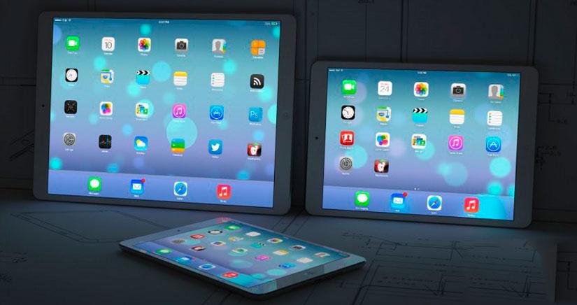 Lanzamiento del iPad de 12,9 pulgadas para la segunda mitad de 2014, y el iWatch para el segundo trimestre