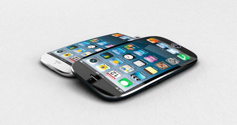 iPhones con pantallas más grandes, curvadas, y con mejores sensores de pantalla táctiles