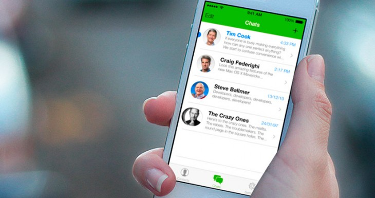 WhatsApp para iOS 7 en Vídeo, así será…. Cuando lo quieran sacar