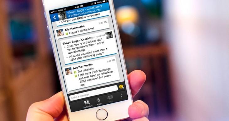 BBM para iPhone permitirá llamadas gratuitas en 2014 y más….